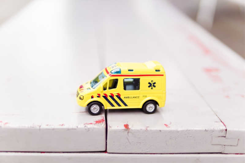Toy ambulance | All rights reserved by PANAMAEXPATINFO.COM