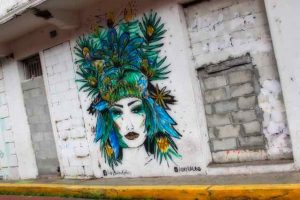 Street art in Panama City | #OPERATIONEXPAT: Expat Living in Central America | All rights reserved by PANAMAEXPATINFO.COM