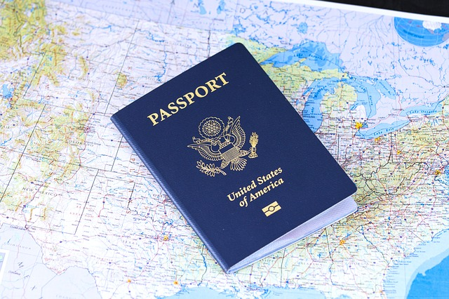 US Passport on top of map | #OPERATIONEXPAT: Expat Living in Central America | All rights reserved by PANAMAEXPATINFO.COM