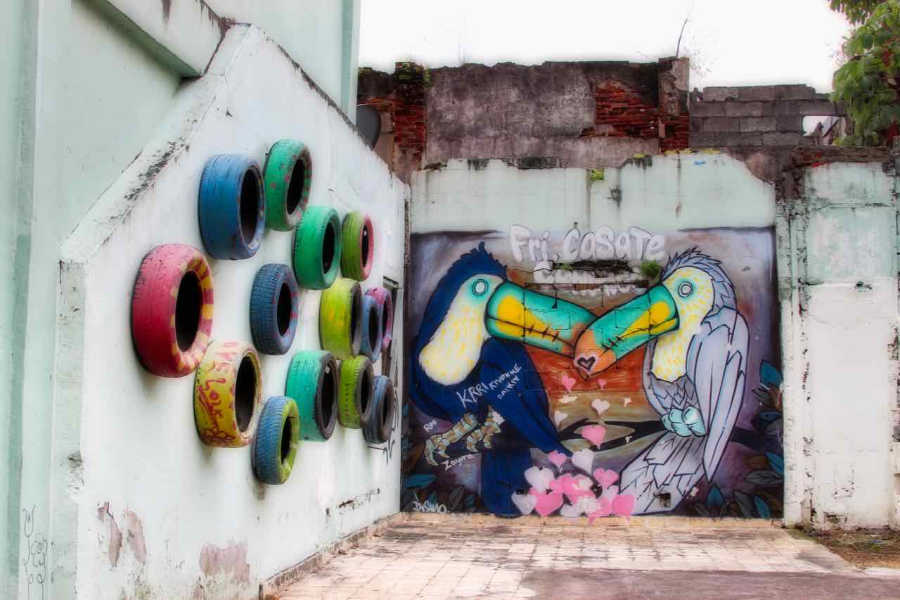Street art in Panama City | All Rights Reserved by PANAMAEXPATINFO.COM